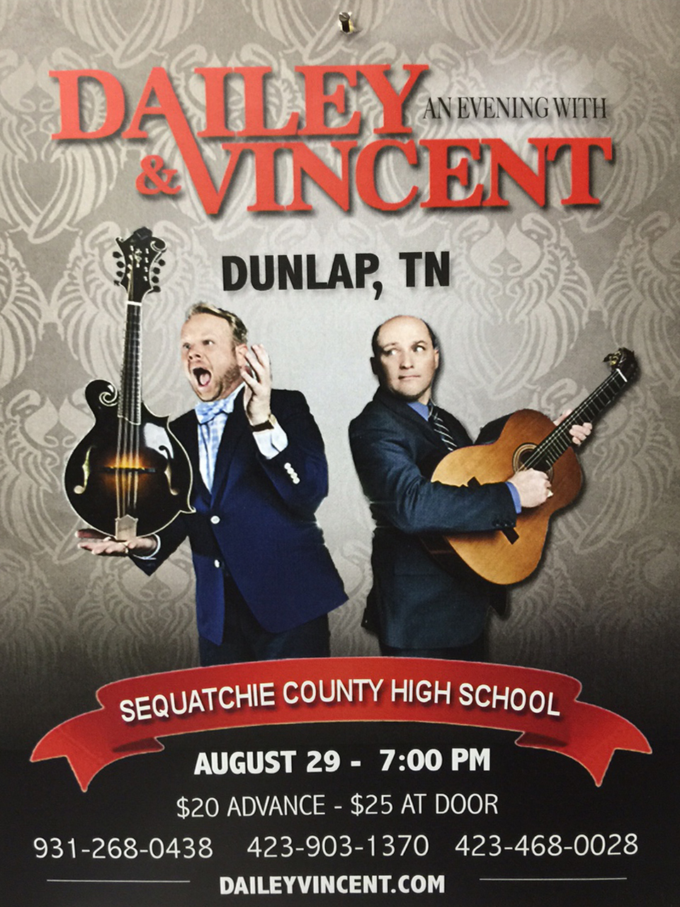 Dailey & Vincent in Dunlap