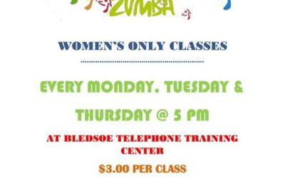 Make plans to attend Zumba tonight at BTC's training center at 5pm!