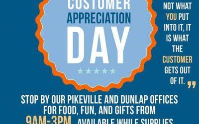 ***PLEASE SHARE*** This Thursday we will be celebrating Customer Appreciation Da