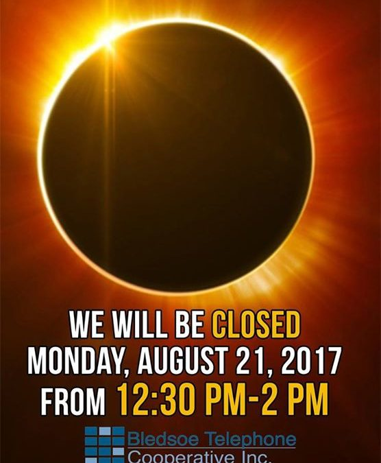 We will be closed from 12:30-2pm today!