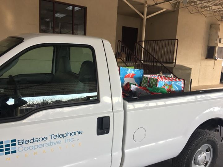 We are heading off to the elementary schools this morning with Christmas present
