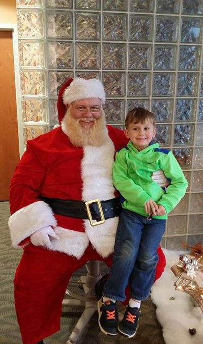 Santa will be at our Pikeville Office from 9am-11am tomorrow morning and at our