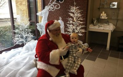Santa is in our Pikeville office today until 11:00 and will be in the Dunlap off