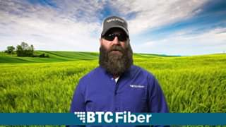 "Help us by ""Sharing"" this post and ""Subscribing"" to the BTC Fiber YouTube channe"