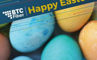 BTC Fiber wishes you a happy Easter.