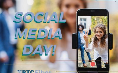 It's Social Media Day! To celebrate it, BTC Fiber wants to highlight the power t