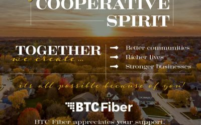 October is National Coop Month. We're proud to be a cooperative and to serve our